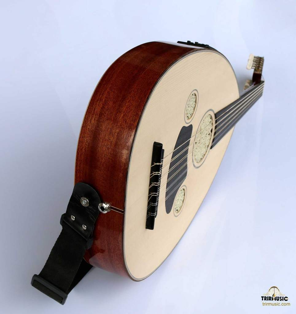 Turkish Professional Half Electric Oud Ud String Instrument OUDE #5