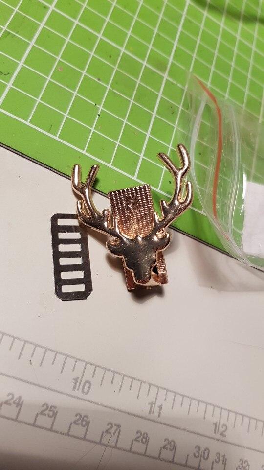 Hoge kwaliteit herten metalen tas decoratie voor diy handtas ambachtelijke messenger schoudertas hardware photo review