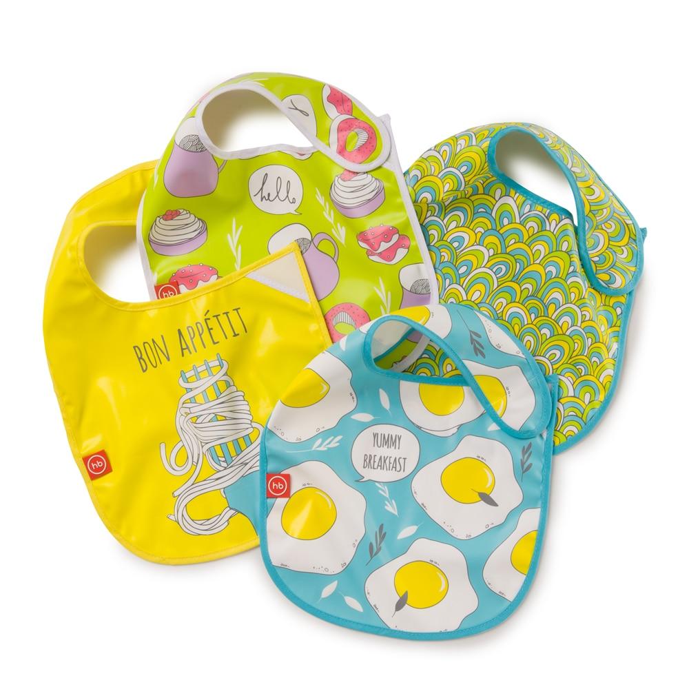 Bibs & Burp Cloths Happy Baby WATER-PROOF BABY BIB X1 16009