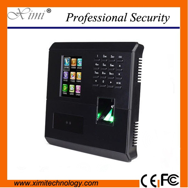 Cheap good quality time attendance TCP/IP communication fingerprint and facial door access controller good quality tcp ip communication free software zk multibio700 facial time attendance and access control with fingerprint reader