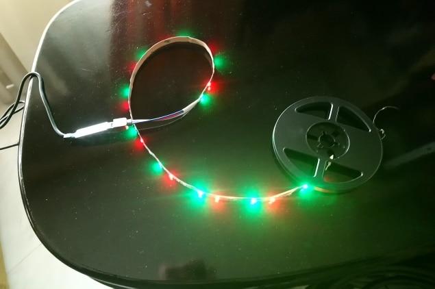 мини USB светодиодные; Материал:: Сплав; лампа; Сид RGB 50м;