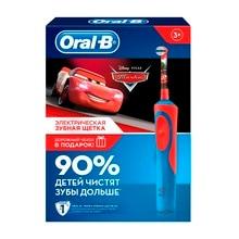 Подарочный набор Oral-B Vitality Stages Power Тачки (Электрическая зубная щетка + дорожный чехол)