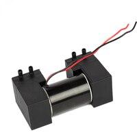 12V small vacuum pump, double head oil free micro pump, brush DC negative pressure air pump