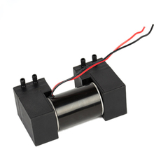 12V small vacuum pump, double head oil-free micro brush DC negative pressure air pump
