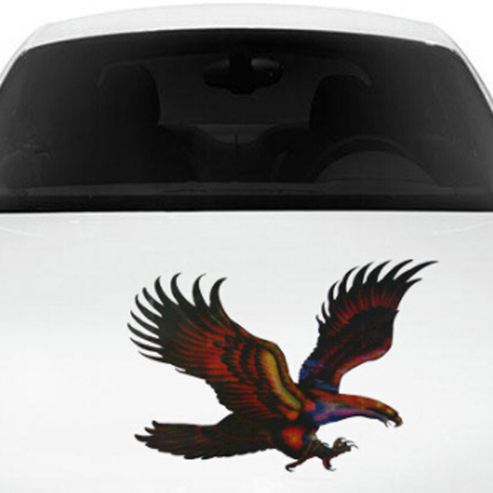 Hot Sell Car Stickers Eagles Colorful Creative Decals For Doors Printed Stickers