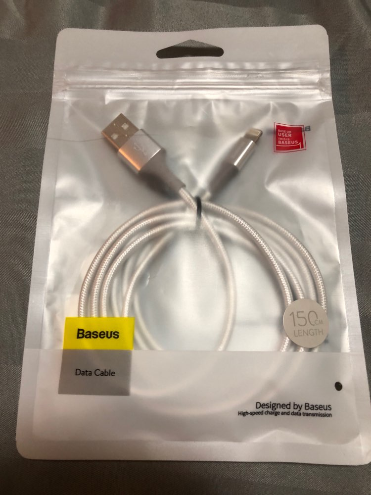 Baseus LED lighting Charger Cable For iPhone X 8 7 USB Cable For iPhone iPad Fast Charging Charger Cable Mobile Phone Data Cable-in Mobile Phone Cables from Cellphones & Telecommunications on Aliexpress.com | Alibaba Group
