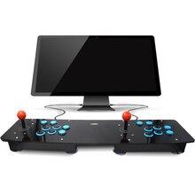 Doppel Acryl Arcade Joystick Spielhalle Spiel Joystick Arcade Controller Konsole Spiel-maschine Für PC Für USB Windows Neue