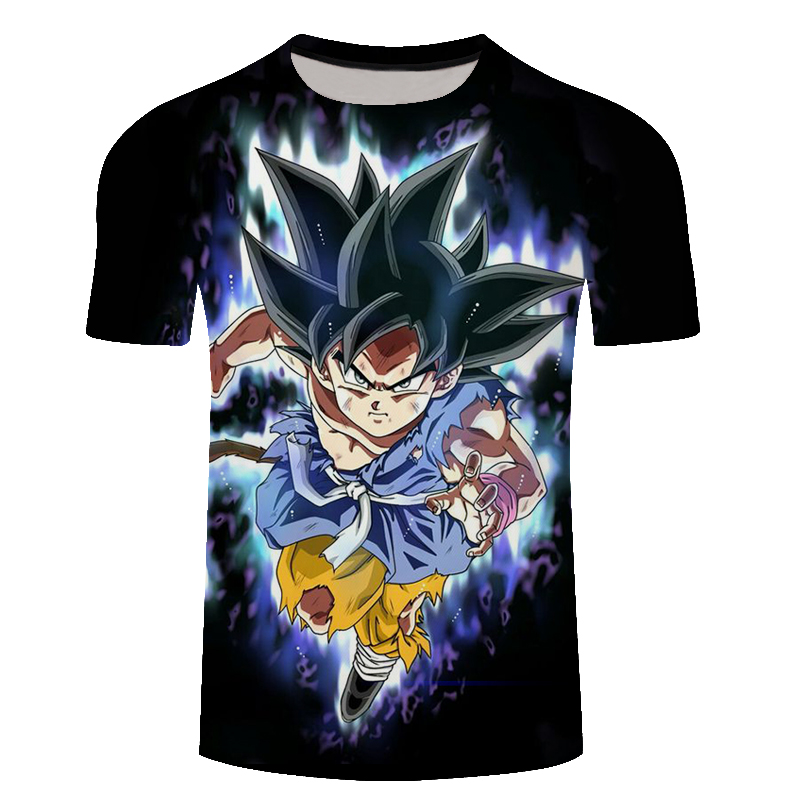 New Dragon Ball T Shirt Men Summer Super Son Goku Fitness Cosplay 3D T-Shirt Unisex Anime Plus Size DragonBall Tops Tshirt Homme
