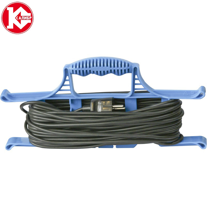 Kalibr 30 meters (2x0,75) electrical extension wire for lighting connect, cross-section 2*0.75