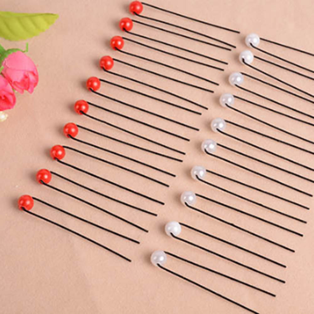 10 Pcs/pack Hair Fork - New Arrival U-shaped Insert Fashion Hairpin Hair Fork Wedding Accessories Catalogues Will Be Sent Upon Request