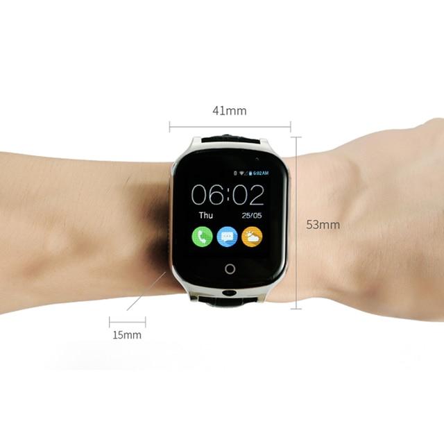 3G GPS Horloge voor Kids Kinderen Tracker Smartwatch Met Sim kaart WIFI SOS LBS Camera Gezondheid stappenteller A19 Waaks