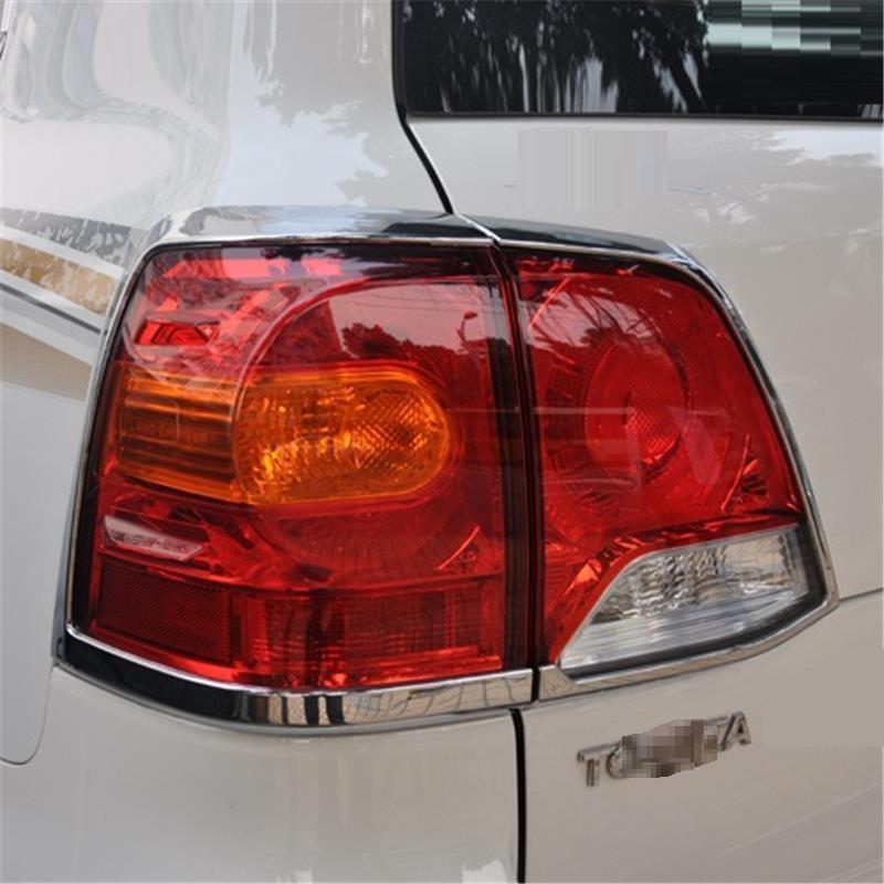 Calandre extérieure Excent décoratif chrome décoration moulures autocollant bande voiture style 16 17 pour Toyota Land Cruiser