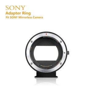 Image 3 - Электронный адаптер MEIKE EF NEX для Canon EF EFS, адаптер с автофокусом для Sony с полной рамкой и креплением E A9 A7M3 A7R3 A7R2 A6500 A6400 a6300