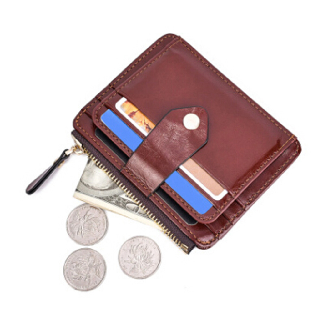 PU Leather Short Coin Purse Men Wallet Small Zipper Men Walet Portomonee Male Card Holder Purse Carteira