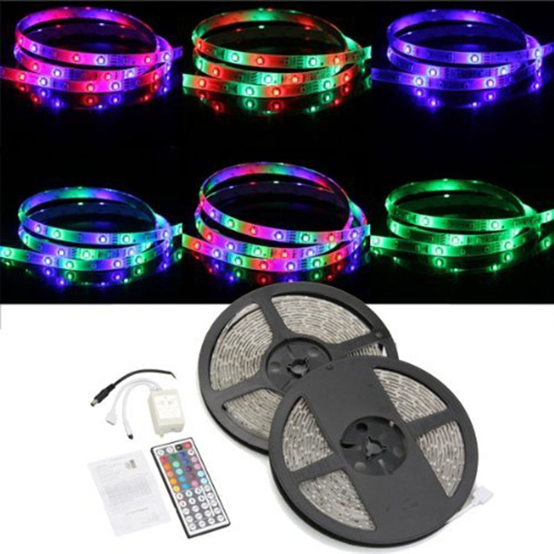 LED Strip Light SMD RGB Waterproof 5050 1LED Rope Lighting