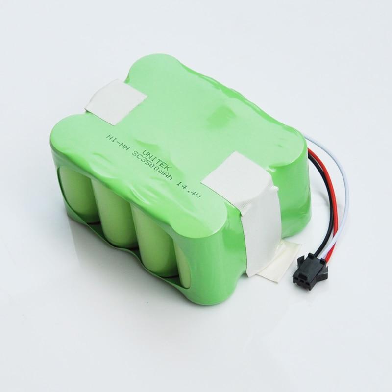 14.4V Ni-Mh SC rechargeable battery pack 3500mAh Vacuum Cleaner Sweeping Robot for KV8 XR210 XR510 XR210A XR210B XR510B XR510C цена