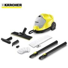 Пароочиститель Karcher SC 4 EasyFix *EU (Мощность нагревателя 2000 Вт, максимальное давление пара 3,5 бар, длина кабеля 4 м, время нагрева 4 мин, съемный бак 0,5 / 0,8 л)