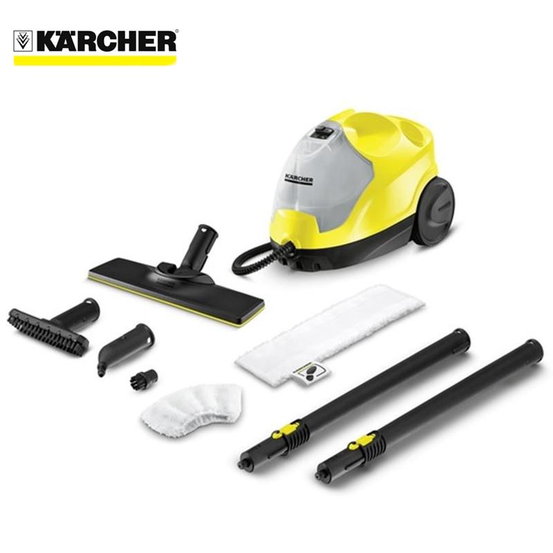Steam cleaner Karcher SC 4 EasyFix *EU 2pcs set high quality steam cleaner brushes round brush for karcher sc952 sc1052 sc1122 sc1125 sc1402 sc1475
