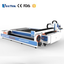 3mm 5mm Stainless Steel Metal Fiber Laser Cutting Machine Raycus Source 500W 750W 1000W, metal pipe fiber laser cutter