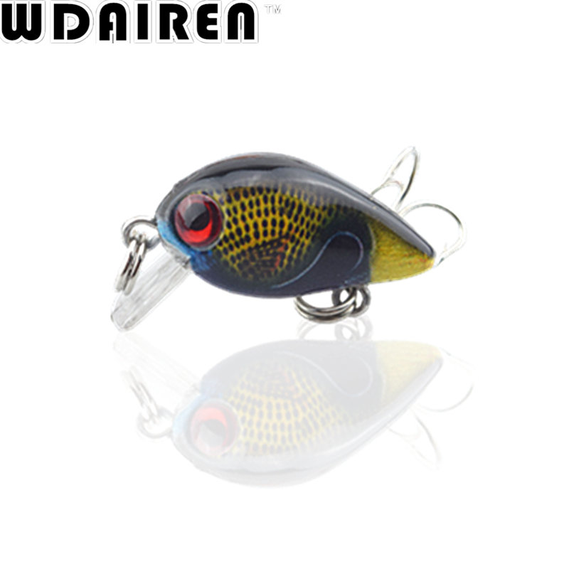 1Pcs 3cm 1.6g Mini Crazy Wobble Crankbait Artificial Fishing Lures Swim bait Japan Hard Crank Bait Tackle Wobbler pesca NR-426 1pcs 12cm 14g big wobbler fishing lures sea trolling minnow artificial bait carp peche crankbait pesca jerkbait ye 37
