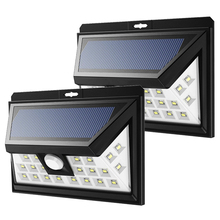 New Scenery 24 36 led solar light for outdoor lamp with waterproof lighting on energy motion sensor