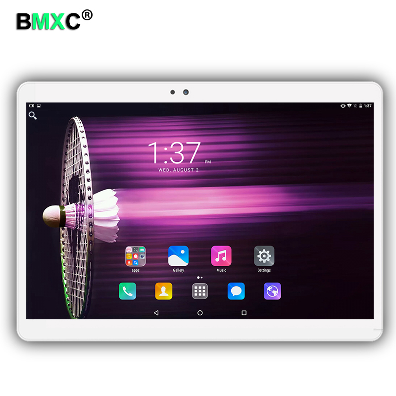 BMXC 3G 4G LTE Phone Call Tablet PC octa core 10.1 inch 1920*1200 IPS Android6.0 MT8752 4GB Ram 64GB Rom Dual Camera tablets pcs created x8s 8 ips octa core android 4 4 3g tablet pc w 1gb ram 16gb rom dual sim uk plug