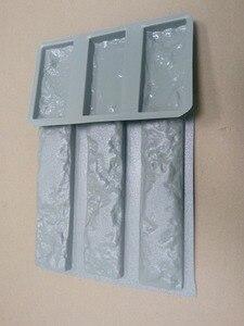 """Image 4 - Plastic Mallen voor Beton 3 + 3 Gips Super Beste Prijs Muur Steen Cement Tegels """"oude Bakstenen"""" Decoratieve muur mallen nieuwe ontwerp"""