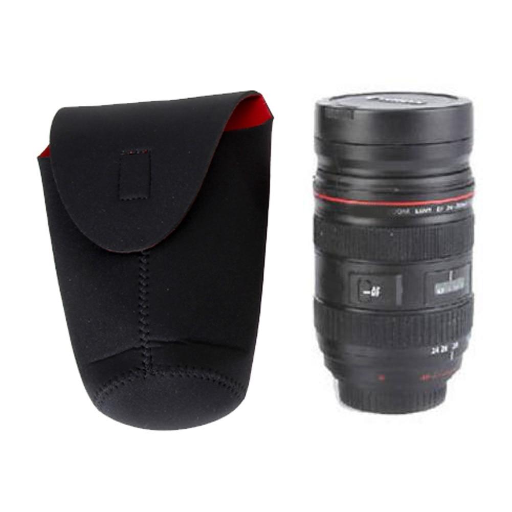 Universal Neoprene DSLR Camera Lens Bag Soft Protector Pouch Padded Case