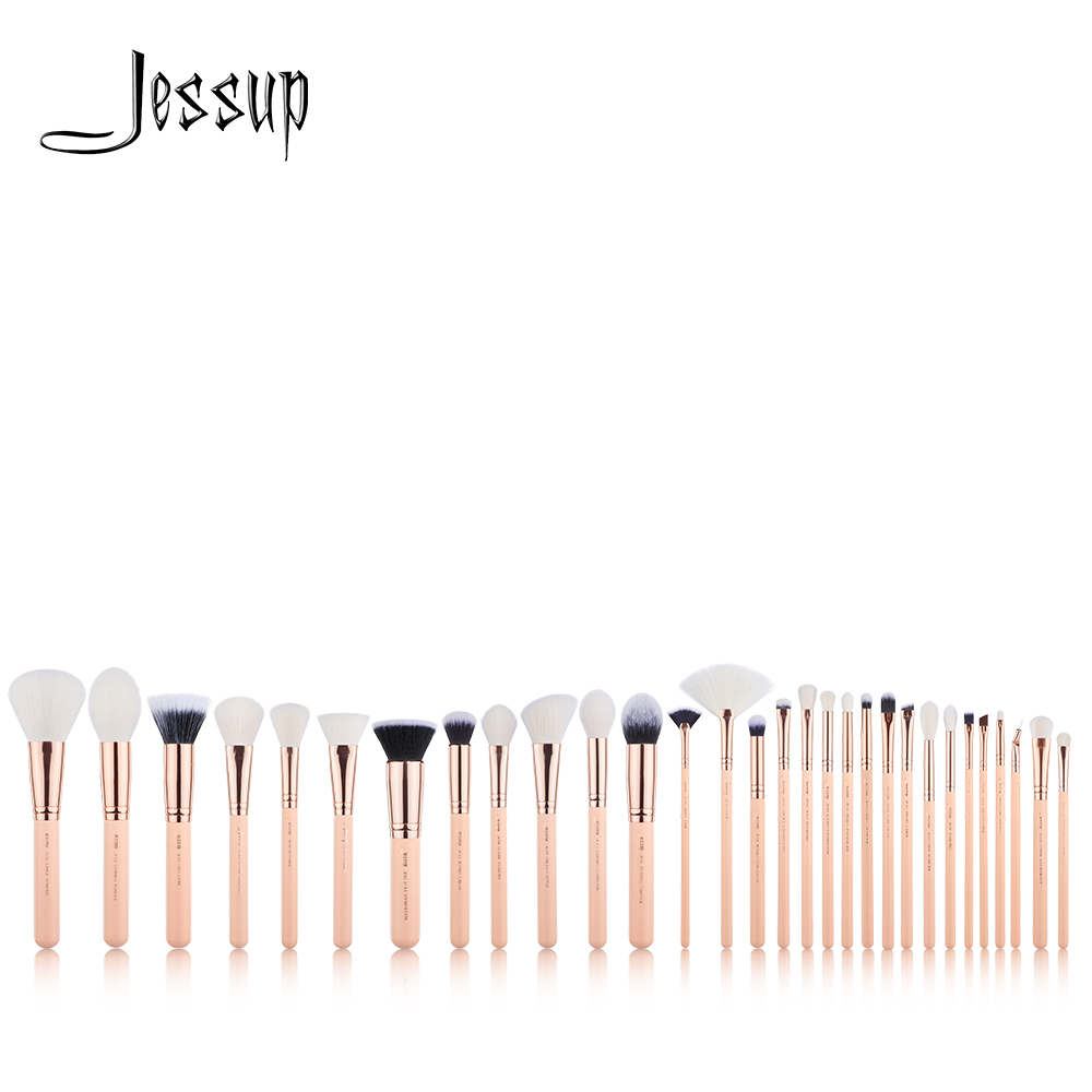 NEW Jessup brushes 30PCS Makeup brushes set Beauty tools Cosmetic kits Make up brush POWDER FOUNDATION EYESHADOW BLUSH jessup brushes 10pcs rose gold black face makeup brushes set beauty cosmetic make up brush contour powder blush