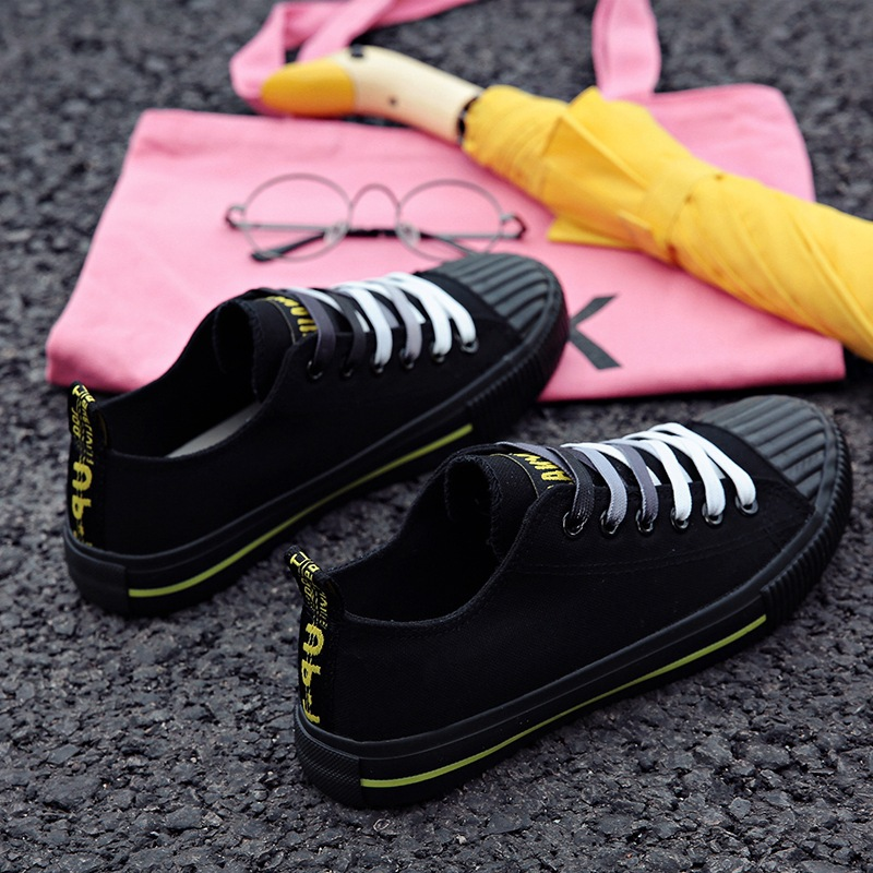 Cloth small white shoes female summer 2018 new students Korean casual shoes canvas shoes flat lace shoes 2015 summer shallow mouth of canvas shoes women shoes a pedal lazy shoes casual flat white shoes korean wave shoes