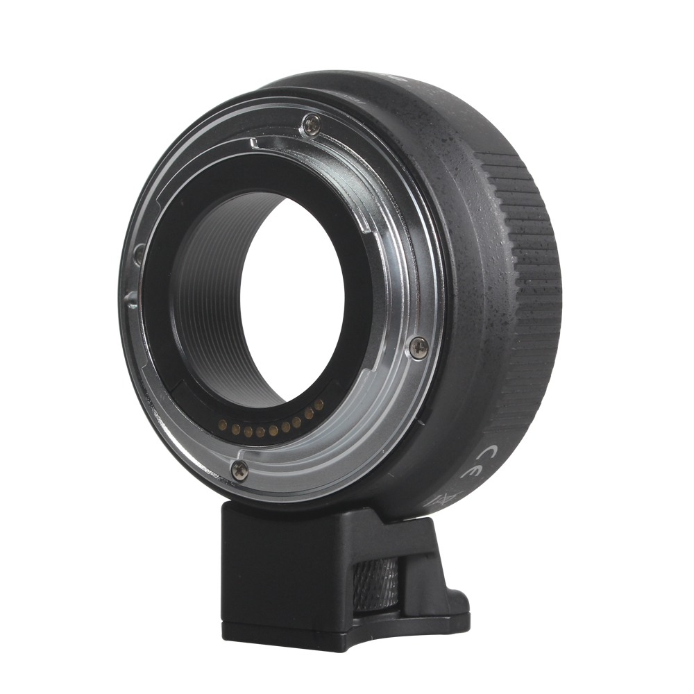 Commlite EF-EOSM adaptateur d'objectif de mise au point automatique électronique pour objectif Canon EOS EF EF-S à EOS M EF-M M2 M3 M5 M6 M10 M50 M100 appareil photo