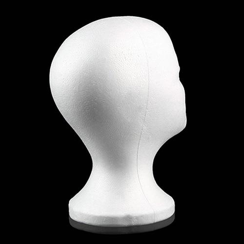 Mannequin tête perruques & chapeau
