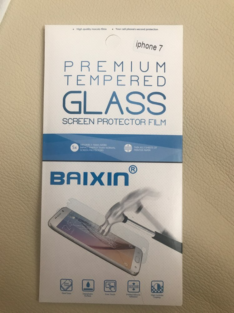 Ghost Glass Screen Protector for iPhone photo review