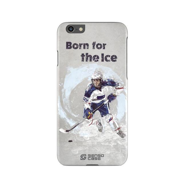 Защитный чехол SensoCase хоккейный свитер для Apple iPhone