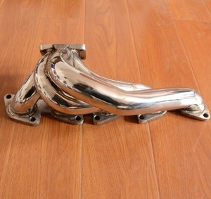 Image 1 - exhaust manifold turbo t25 stainless steel for  fiat coupe 2.0 20v