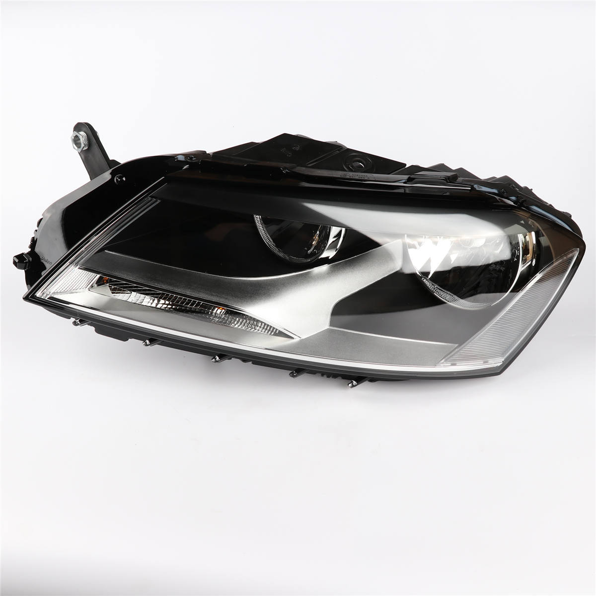 1Pcs OEM Top Quality Right Side Headlight Head Light Lamp Assembly For VW Passat B7 L3AD 941 006 A 3pcs oem black piano paint chrome car center console air condition vents for passat b6 b7 cc r36 3ad 819 701 a 3ad 819 702 a