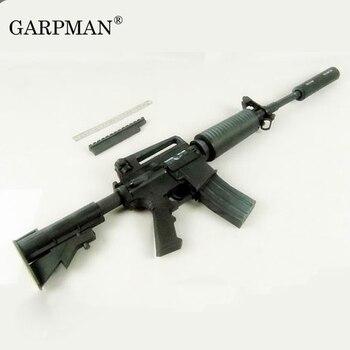 1:1 M4A1 Assault Rifle 3D Paper Model Gun Handmade Cosplay Prop Toy 1