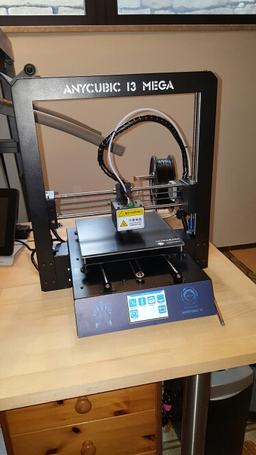 ANYCUBIC 3D Printer I3 Mega Impresora 3D DIY Kit Full Metal Large Printing Size Touch Screen LCD Filament 8G SD Card 3d Drucker