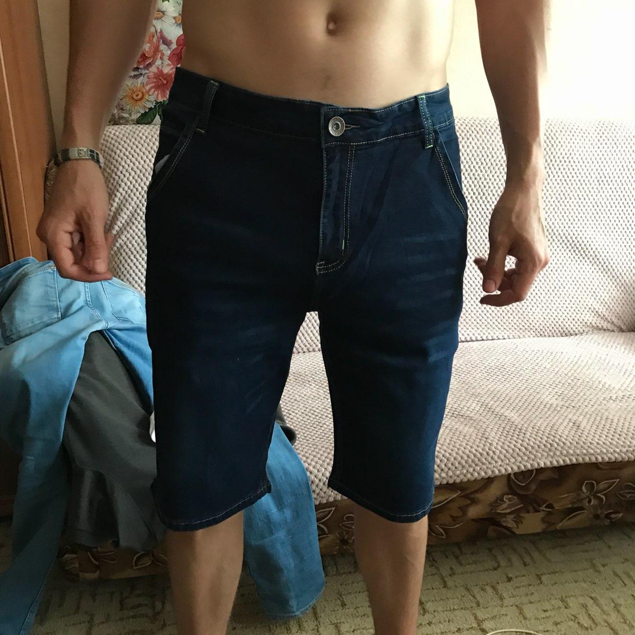 Джинсовые шорты Brother Wang