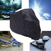 Impermeable al aire libre de interior motocicleta Cruisers Street Sport cubierta UV protector moto lluvia polvo para Vespa Sprint Harley