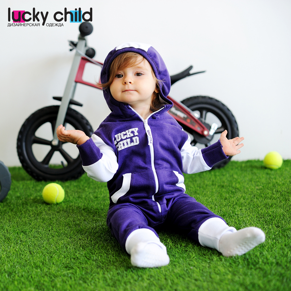 Jumpsuit Lucky Child for girls and boys 8-3 (3M-24M) Children's clothes kids projector bulb lamp 78 6969 9599 8 for 3m x50