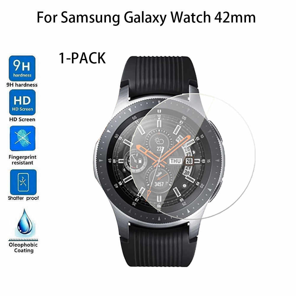 1/2/4-PACK Tempered Glass Screen Protector For Samsung Galaxy Watch 42/46 mm Glass Screen Protector Protective