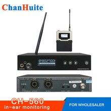 Qualidade superior psm300 no sistema de monitor de orelha metal bodypack receptor profissional sem fio em fones de ouvido palco monitoramento