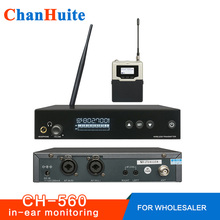 Top Quality PSM300 in ear monitor system Metal bodypack Receiver Professional Wireless in ear stage Monitoring Stage headphones