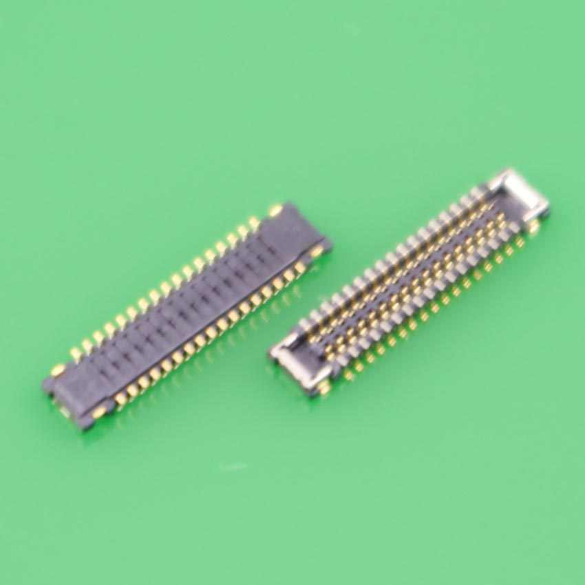 YuXi 34Pin FPC Connector Port Plug for showing display on Mainboard for Xiaomi 4 M4 Mi4 replacement high quality