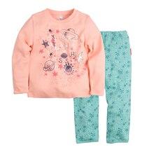 Пижама джемпер+брюки BOSSA NOVA для девочек 362p-361