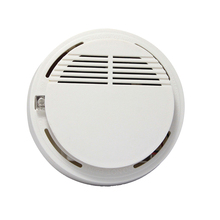 Smoke Fire Detector 80dB Home Security System for Indoor Shop Smoke Alarm Sensor Wireless Alarm Security