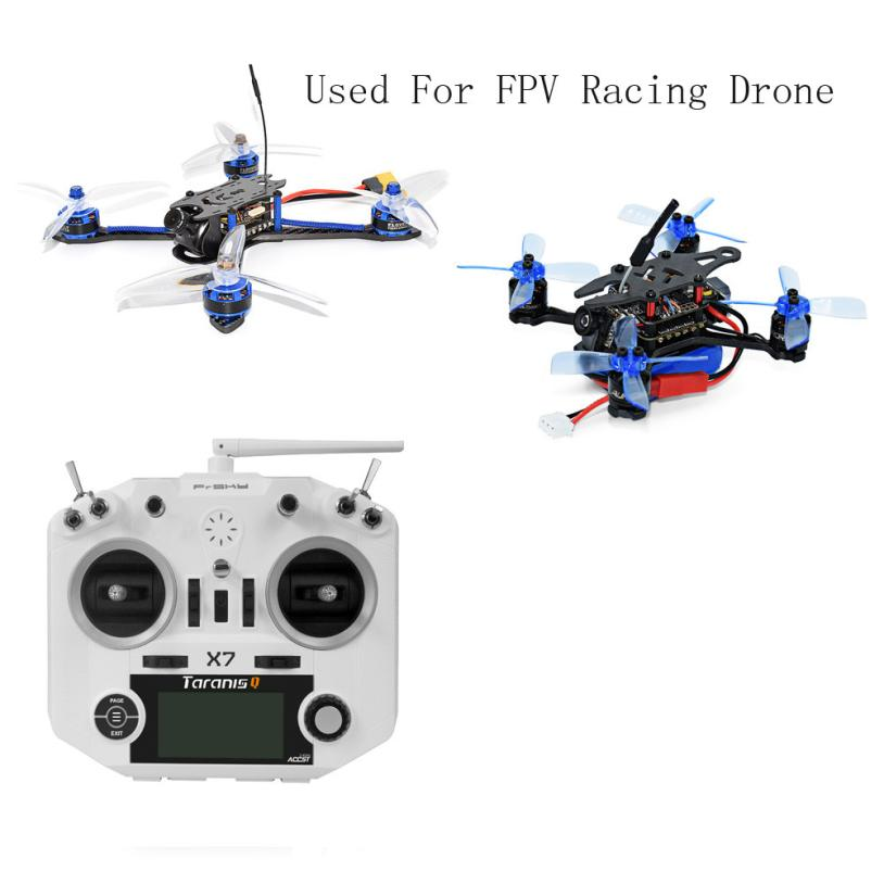 FrSky ACCST Taranis Q X7 2.4GHz 16CH Transmitter Mode 2 For Racing Drone  IUNEED TOY Store frsky accst taranis x9d plus 16ch 2 4ghz transmitter with x8r receiver mode 2 for racing drone