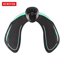 BYRIVER New Arrival Electric EMS Trainer Pad Hip Muscle Stimulator Kit Pump Lift and Firm Buttock Push Up Lifting Tens Massager