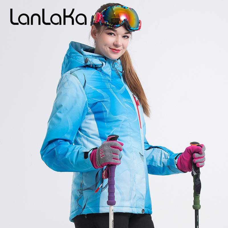 2018 Women Ski Jacket Snowboard Jacket Windproof Waterproof Outdoor Sport Wear Skiing Snowboard Clothing Super Warm Winter Coat 2018 riviyele men ski jacket snowboard jacket winter clothing windproof waterproof breathable outdoor sport wear super warm coat